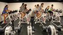 Upper School Students Go For a Spin in New PE Class